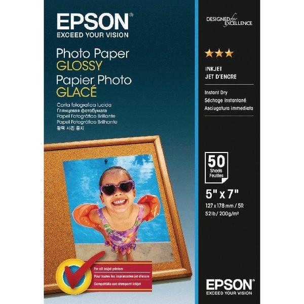 Foto papir Epson C13S042545, 13 x 18 cm, 50 listov, 200 gramov