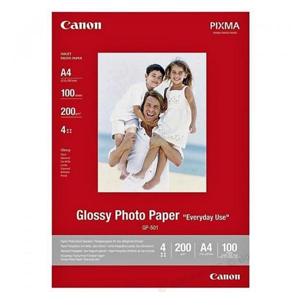 Foto papir Canon GP-501, A4, 100 listov, 200 gramov