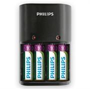 Polnilec baterij Philips SCB1490NB + baterije