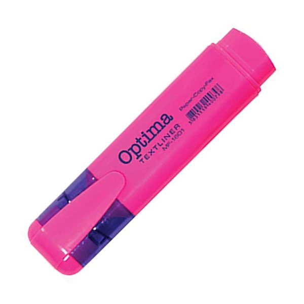 Marker Fluo Optima, roza