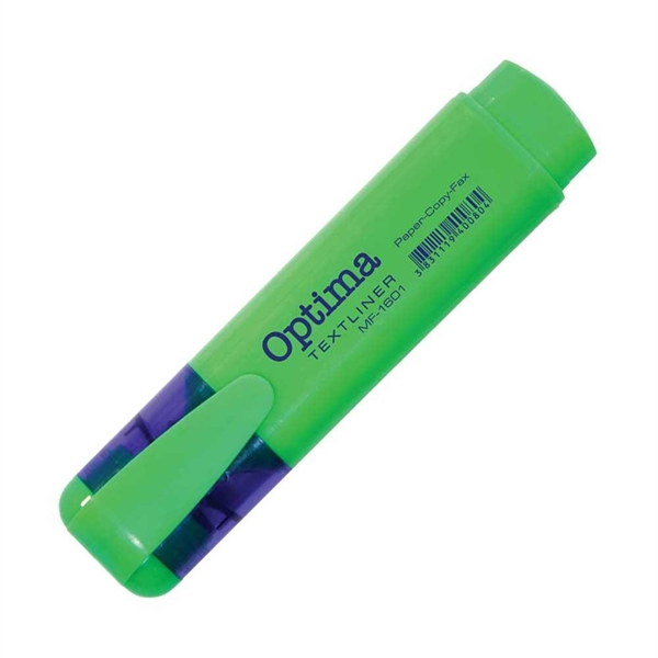 Marker Fluo Optima, zelena