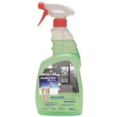 Dezinfekcijsko čistilo Sanitec Multi Activ, 750 mL
