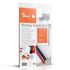 Komplet za vezavo dokumentov (plastične špirale in platnice) PB100-14, za 12 vezav