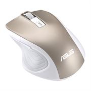 Miška Asus Silent Mouse MW202, brezžična, tiha, zlata