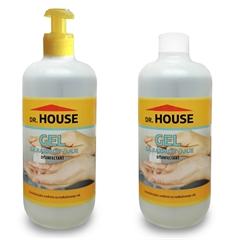 Razkužilo za roke dr. House, komplet, 500 ml + 600 ml