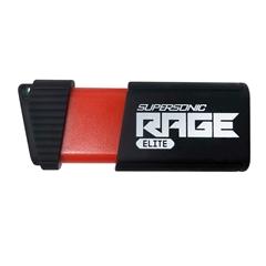 USB ključ Patriot Supersonic Rage Elite 256 GB, črno-rdeča