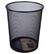 Koš za smeti Deli, kovinski, črna