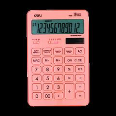 Kalkulator Deli M015, roza