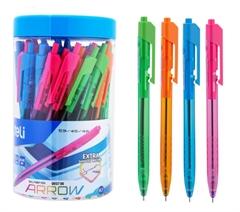 Kemični svinčnik Deli Arrow, 50 kosov