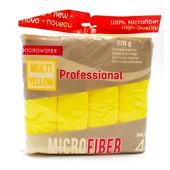 Krpa iz mikrovlaken Sucitesa, rumena, 1 kos