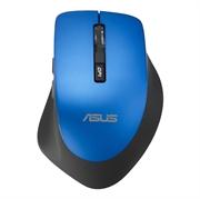 Miška Asus WT425, brezžična, modra