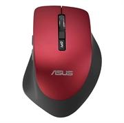Miška Asus WT425, brezžična, rdeča