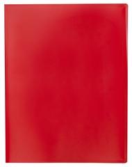 Mapa s kovinsko sponko, A4, rdeča