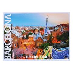 Risalni blok A3, 20 listov, 140 g, Barcelona