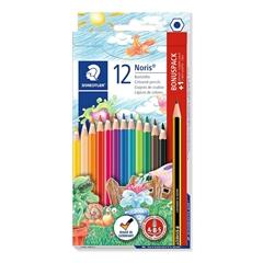 Barvice Staedtler Noris Club ABS s svinčnikom in radirko, 12 kosov