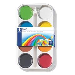 Vodene barvice Staedtler Noris Club, ploščica 8871 K8, 8 barv