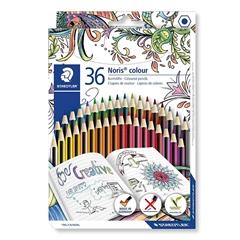 Barvice Staedtler Noris Wopex v kartonski embalaži, 36 kosov