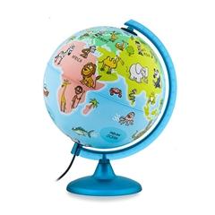 Globus Mappa&Mondo, 25 cm, z lučko, angleški