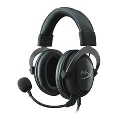 Slušalke z mikrofonom Kingston HyperX Cloud II (KHX-HSCP-GM), igralne, metal črne, žične