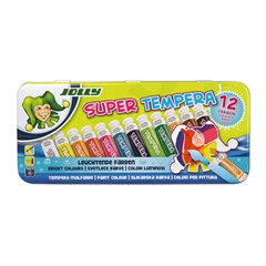 Set tempera barv Jolly Super Tempera, 12 kosov