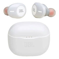 Brezžične slušalke JBL T120TWS, bele