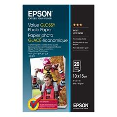 Foto papir Epson C13S400037, 10 x 15 cm, 20 listov, 183 gramov