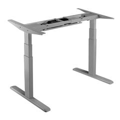 Dvižno električno podnožje UVI Desk, sivo