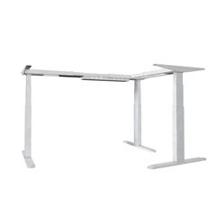 Dvižno električno podnožje UVI Desk 90° (kot), belo