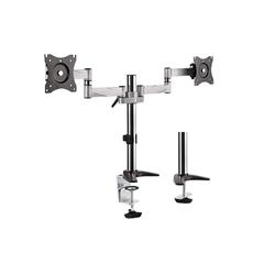 Aluminijasto stojalo Dual Monitor UVI Desk VESA Mount (13˝-27˝)