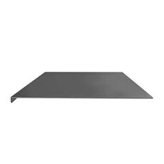 Namizna podloga za miško in tipkovnico UVI Desk, (750 x 450 x 3 mm), črna