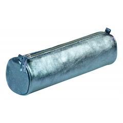 Okrogla peresnica usnjena metalic Clairefontaine, indigo
