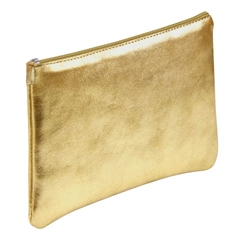 Ploščata peresnica usnjena metalic Clairefontaine, zlata