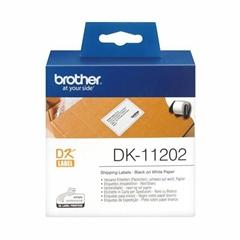 Etikete Brother DK-11202, neskončne, 62 mm x 100 mm, original