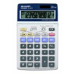 Komercialni kalkulator Sharp EL337C, 1V