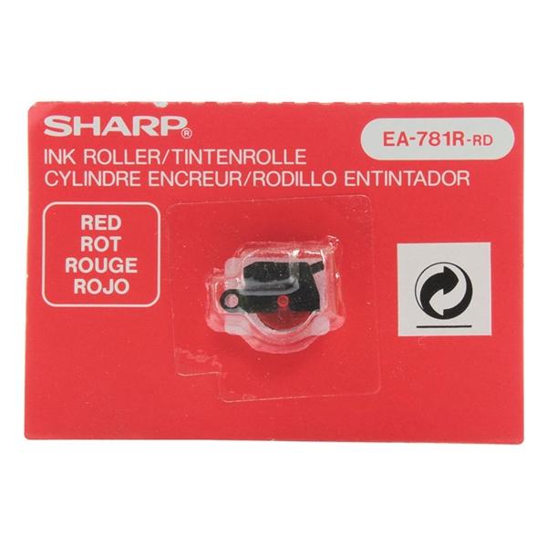 Črnilni valjček Sharp rdeč za kalkulator z trakom