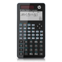 Tehnični kalkulator Sharp HP 300S+, bel