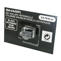Črnilni valjček Sharp črn za kalkulator s trakom EA781RBK