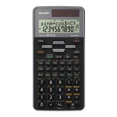 Tehnični kalkulator Sharp EL520TGGY, črn