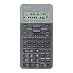 Tehnični kalkulator Sharp EL531THBGY, siv