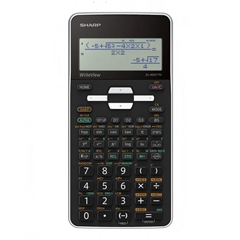 Tehnični kalkulator Sharp ELW531THWH, črno-bel