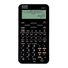 Tehnični kalkulator Sharp ELW531TLBBK, črn