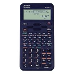 Tehnični kalkulator Sharp ELW531TLBBL, moder