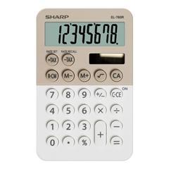 Namizni kalkulator Sharp EL760RBLA, krema
