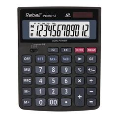 Kalkulator SHC Rebell Panther 12, črn