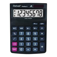 Kalkulator SHC Rebell Panther 8, črn