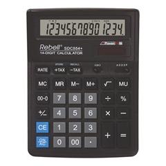 Komercialni kalkulator Rebell SDC554+, črn