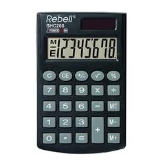 Komercialni kalkulator Rebell SHC 200N, črn