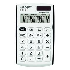 Komercialni kalkulator Rebell RE-SHC312BKBX, belo-črn