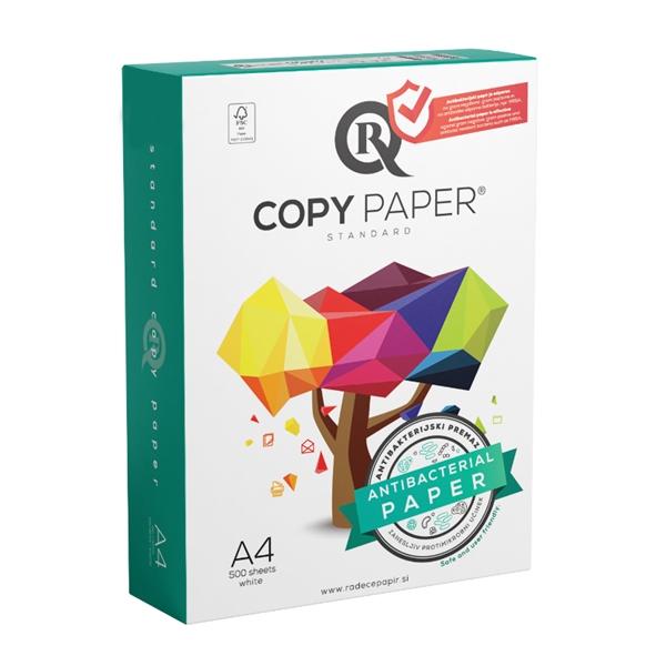Antibakterijski fotokopirni papir R Copy A4, 500 listov, 80 gramov