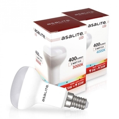 LED sijalka Asalite E14 R50, 5W, 3000K